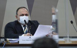 CPI da Covid Eduardo Pazuello