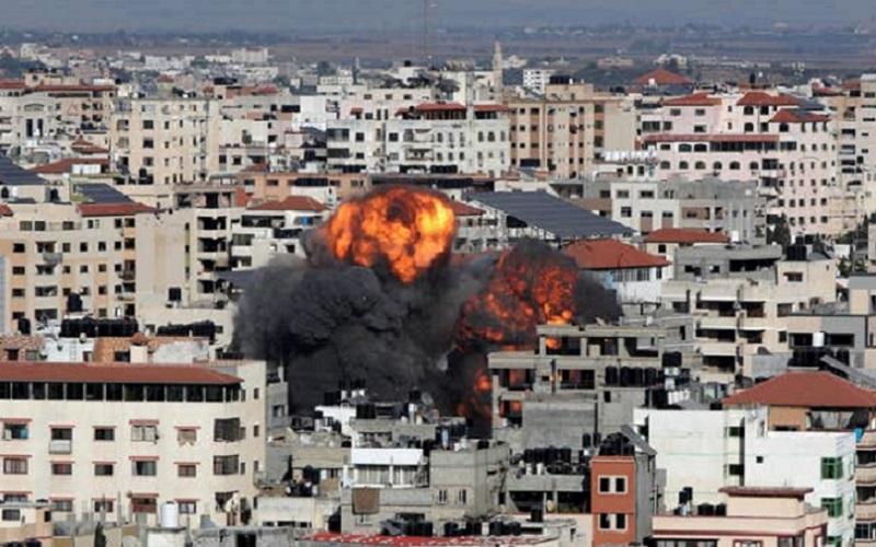 Israel bombardeio Faixa de Gaza