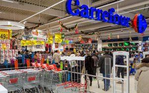 Supermercado Carrefour compras