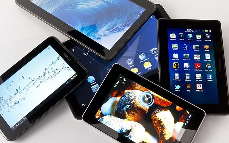 Tablet notebook trabalho