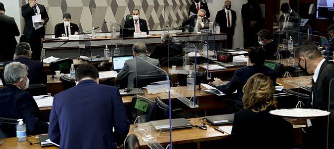 Justiça obriga comparecimento de convocados na CPI da Covid