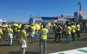 Energia solar manifestação Congresso