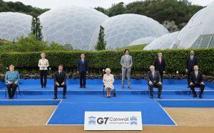 G7 Cornwal líderes países