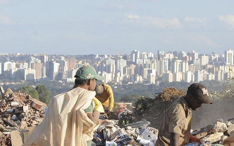 Desigualdade social pobreza DF