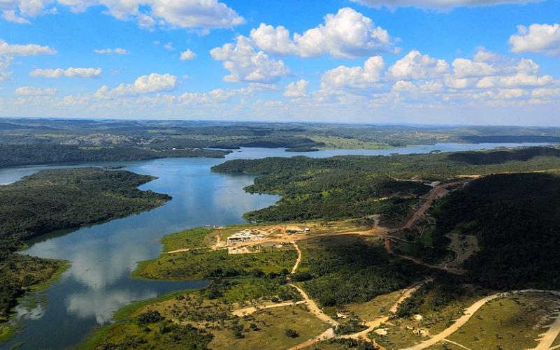 Lago Corumbá IV vista aérea Goiás Misto Brasília