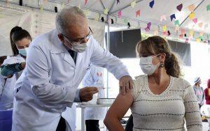 Vacina ministro Marcelo Queiroga Gama