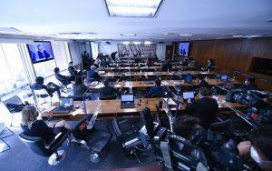 CPI da Covid sessão de depoimento Senado Misto Brasília