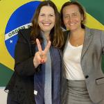 Deputadas Bia Kicis e Beatrix von Storch