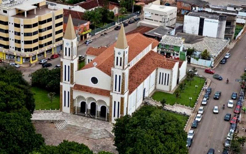 Formosa vista aérea Goiás