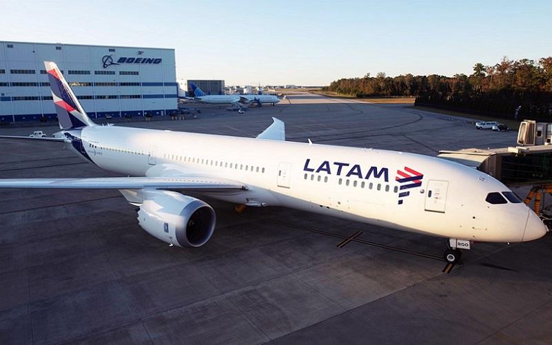 Latam anuncia Boieng 787 Dreamliner para longa distância