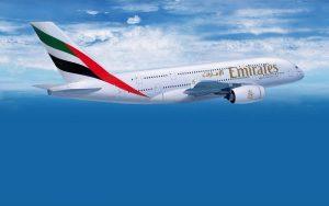 Avião Emirates Airlines