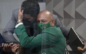 CPI da Covid Luciano Hang senador Marcos Rogério