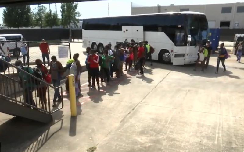 Migrantes haitianos Estados Unidos Misto Brasília