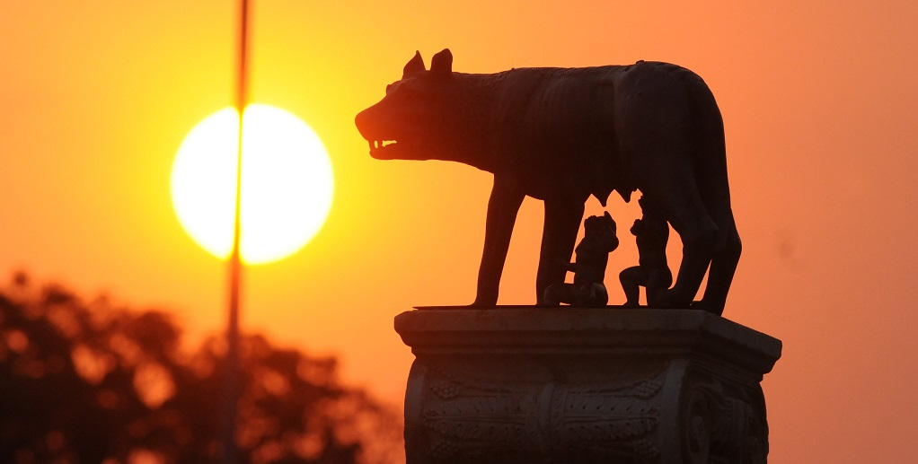Estátua da loba, Rômulo e Remo Palácio do Buriti DF