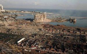 Líbano explosão porto