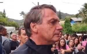 Jair Bolsonaro barrado jogo Santos Misto Brasília