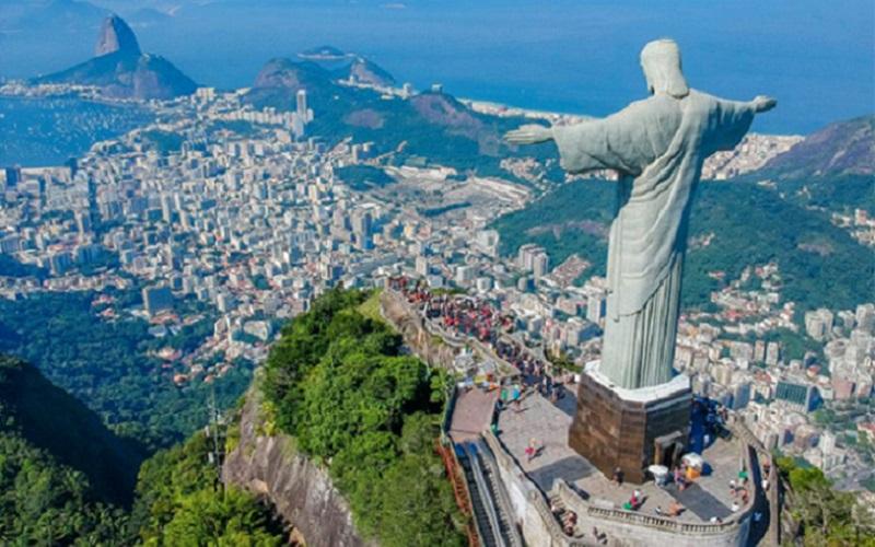Cristo Redentor Rio de Janeiro Misto Brasília