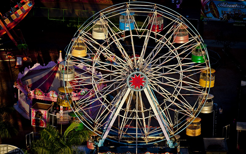 Roda gigante crianças Misto Brasília