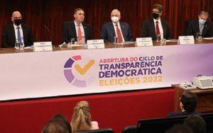 TSE ciclo de debates urnas eletrônicas